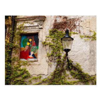 Wall in Bratislava Postcard