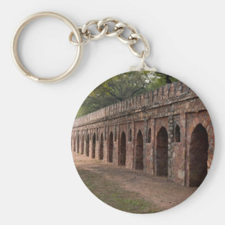 Wall inside historic Humayun s tomb Key Chains