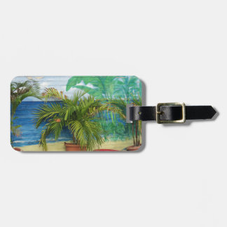 """Wall of Colors """"St. Maarten"""" Travel Bag Tag"""
