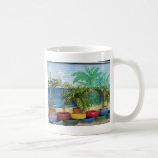 "Wall of Colors ""St. Maarten"" Coffee Mugs"