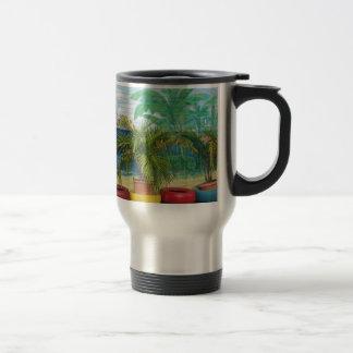 """Wall of Colors """"St. Maarten"""" Coffee Mug"""