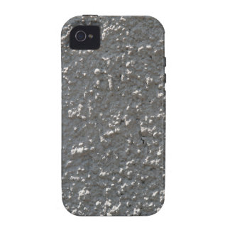 Wall of gray cement with a rough surface Case-Mate iPhone 4 cases