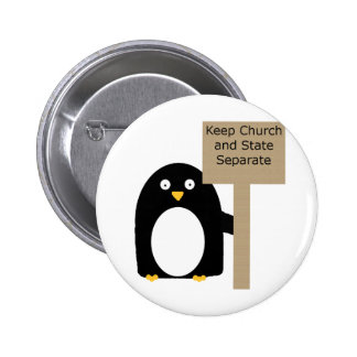 Wall of Separation Penguin Pins