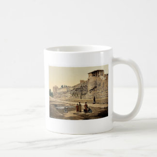 Wall over which St. Paul escaped, Damascus, Holy L Coffee Mug