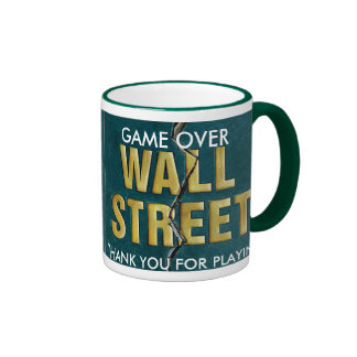 WALL ST MUG - Customized