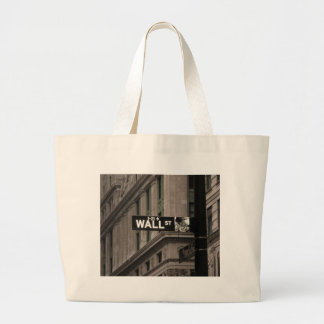 Wall St New York Tote Bags