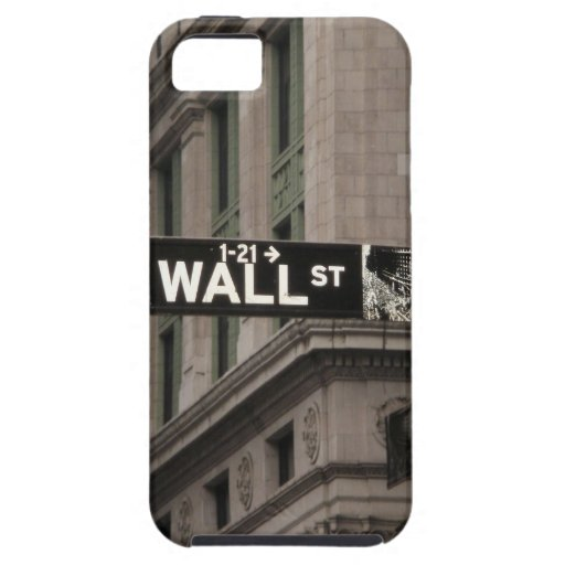 Wall St New York iPhone 5/5S Covers