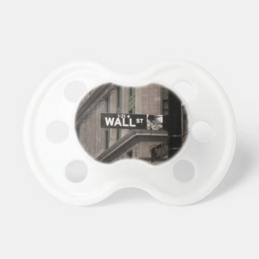 Wall St New York Baby Pacifiers