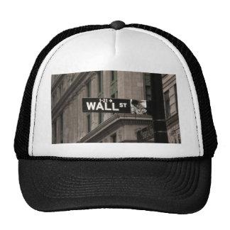 Wall St New York Trucker Hats