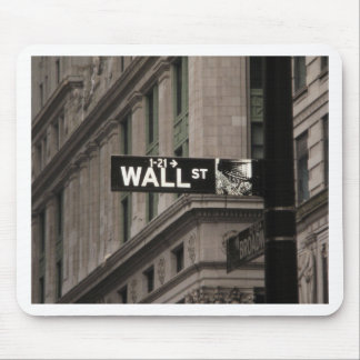 Wall St New York Mousemat