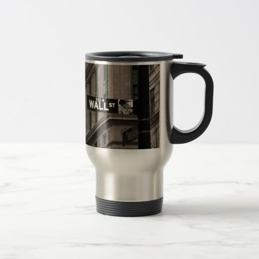 Wall St New York Mug