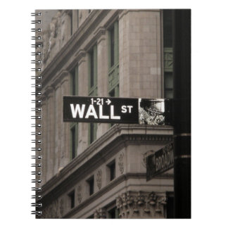 Wall St New York Notebook