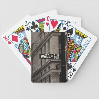 Wall St New York Poker Deck