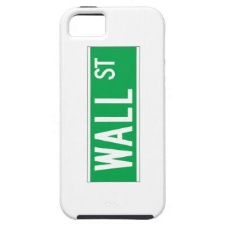 Wall St., New York Street Sign iPhone 5 Cases