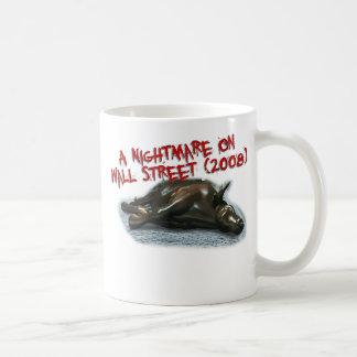 wall st nightmare cup basic white mug