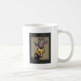 Wall St. Redistribution Coffee Mugs