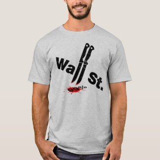 Wall St. & the 99% T-Shirt