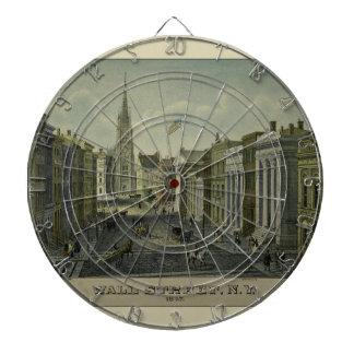 Wall Street 1847 Dartboard