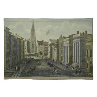 Wall Street 1847 Placemat