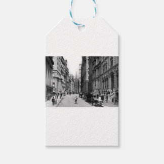 Wall Street 1900's Gift Tags