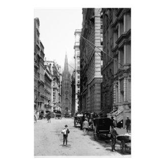 Wall Street 1900's Stationery