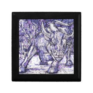 wall street bull gift box