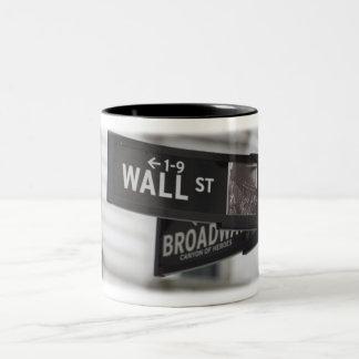 Wall Street Coffee Cup