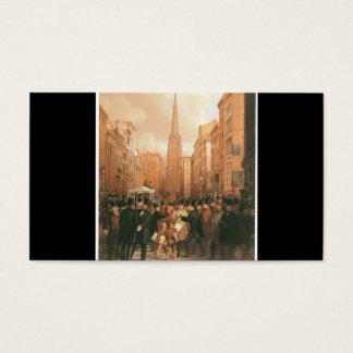 Wall Street, Half Past Two O'Clock 1857