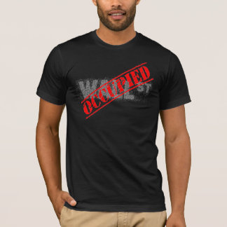 Wall Street - OCCUPIED T-shirt