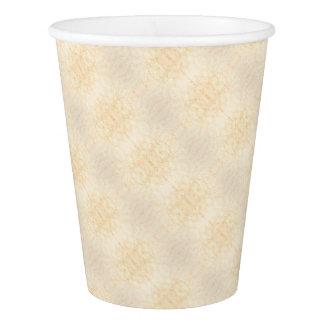 Wall texture flower Rorschach Paper Cup
