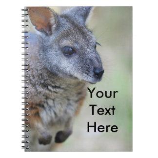 Wallaby Australian native animal Notebooks