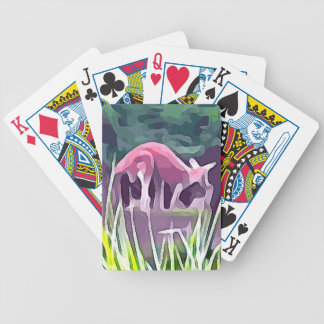 Wallaby Bicycle Playing Cards