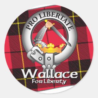 Wallace Clan Classic Round Sticker