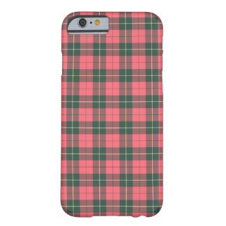 Wallace Clan Pink and Green Reproduction Tartan Barely There iPhone 6 Case
