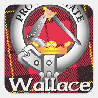 Wallace Clan Square Sticker