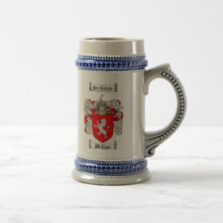 Wallace Coat of Arms Stein