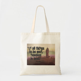 Wallace Monument, Stirling, Scotland Budget Tote Bag