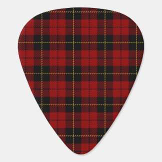 Wallace plaid guitar pick