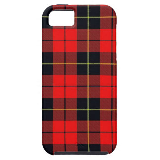 Wallace plaid iphone 5 Tough case