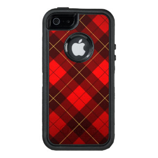 Wallace tartan background OtterBox defender iPhone case