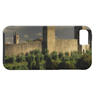 Walled city of Monteriggioni, in the province of iPhone 5 Cover