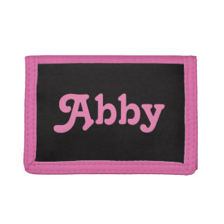 Wallet Abby