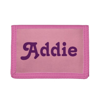 Wallet Addie