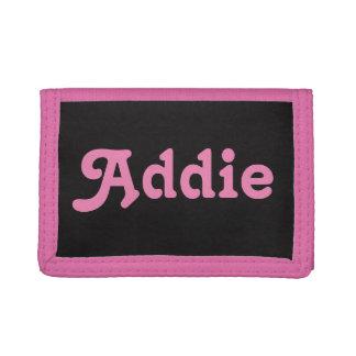 Wallet Addie