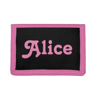 Wallet Alice