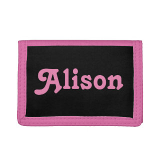 Wallet Alison