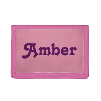 Wallet Amber