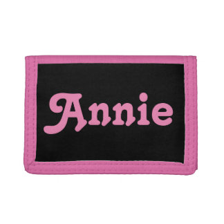 Wallet Annie