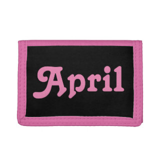 Wallet April