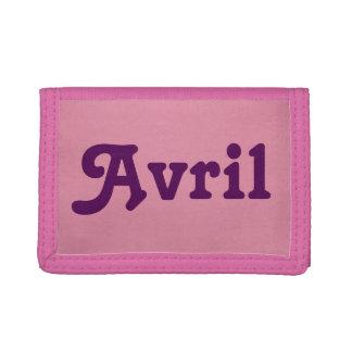 Wallet Avril